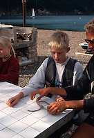 Italien, Elba, Kindersegelkurs in Bagnaia