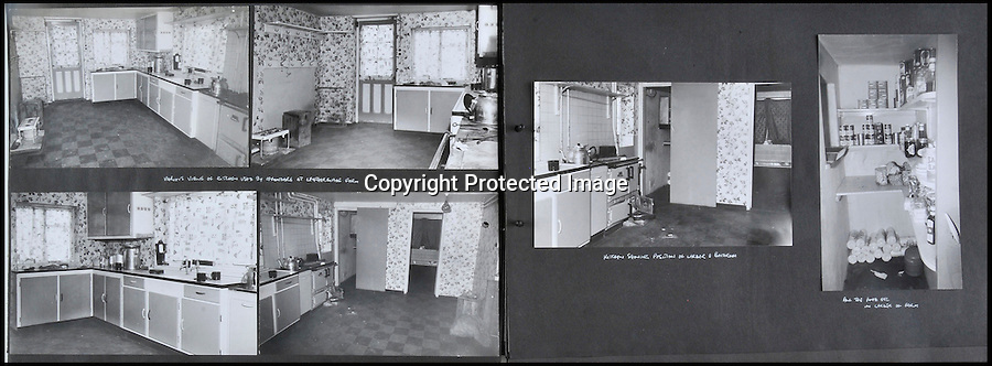 BNPS.co.uk (01202 558833)<br /> Pic: Ben Cavanna/DWA/BNPS<br /> <br /> Interiors of Leatherslade farm.<br /> <br /> A unique step by step record of the Great Train Robbery compiled by the first detective on the scene has come to light, 50 years after the 'Crime of the century'.<br /> <br /> DC John Bailey's meticulous scrapbook's give a fascinating blow by blow picture account of the notorious heist from the scene to the capture and trial of the nine robbers.<br /> <br /> Dominic Winter auctions in Cirencester are selling the historic books with a &pound;3000 estimate.