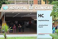 Campinas (SP), 27/02/2020 - Fachada do predio do HC (Hospital de Clinicas) da Unicamp, nesta quinta-feira (27), que foi nomeado como um dos Centros de Contigencia contra o coronavirus no Estado. Um homem que estava no mesmo voo do empresario de 61 anos que foi confirmado com coronavirus na capital na noite de terca-feira (25) foi atendido no Hospital de Clinicas da Unicamp, em Campinas. (Foto: Luciano Claudino/Codigo 19/Codigo 19)