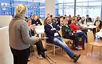 UTRECHT - Workshop 'Cummunicatie' . Hockeycongres bij de Rabobank in Utrecht. FOTO KOEN SUYK