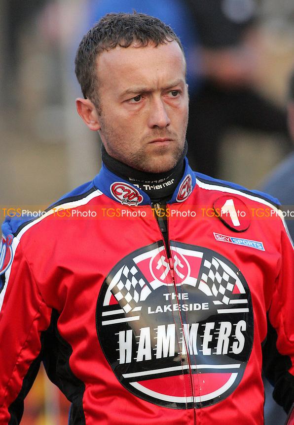 Dave Norris - Lakeside Hammers vs Poole Pirates - Sky Sports Elite League A at Arena Essex, Purfleet - MANDATORY CREDIT: Gavin Ellis/TGSPHOTO