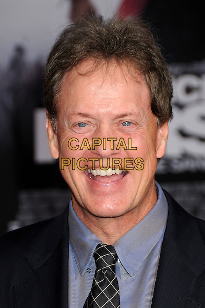 "RICK DEES .""Prince Of Persia: The Sands Of Time"" Los Angeles Premiere held at Grauman's Chinese Theatre, Hollywood, California, USA..May 17th, 2010.headshot portrait black blue mouth open.CAP/ADM/BP.©Byron Purvis/AdMedia/Capital Pictures."