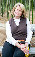 Robin Britt, owner and extraordinary hostess at Merritt's Store and Grill in Chapel Hill, NC.
