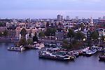 Blick auf Alten Hafen, Amsterdam