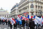 May Day, or Labor Day, March in Paris, France, Europe