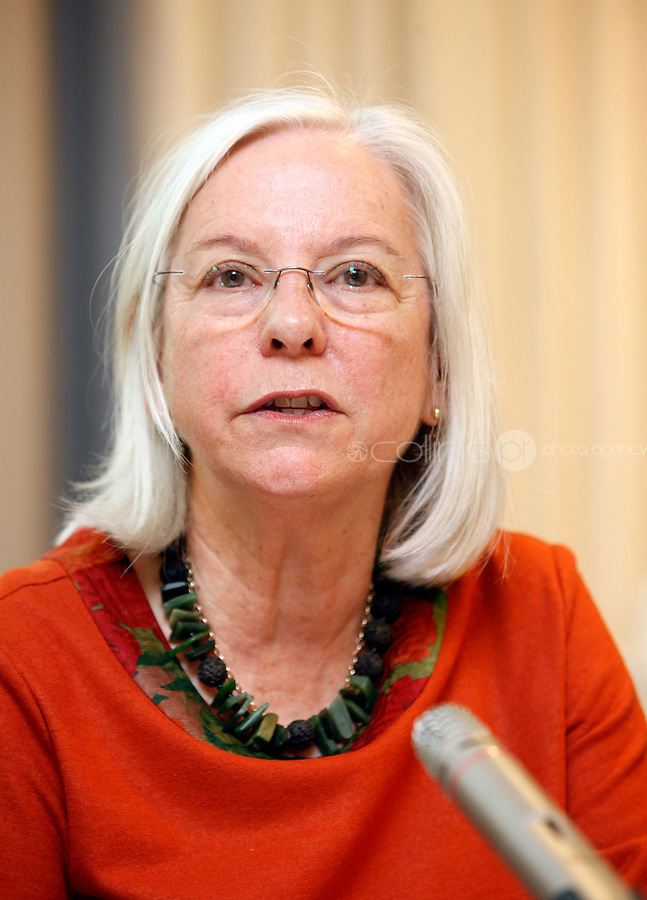 *** NO FEE PIC***.09/11/2011.Rosslyn Noonan Chairperson of the International Co-ordinating Committee (ICC) .during an Amnesty International Ireland & the Irish Council for Civil Liberties Information evening on the 'Dublin Process' of Treaty Body Reform at the Radisson Blu Royal Hotel, Golden Lane, Dublin..Photo: Gareth Chaney Collins