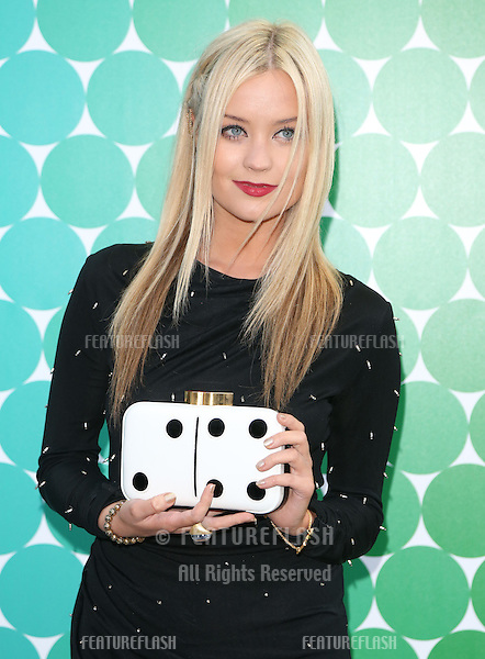 Laura Whitmore at the Felder Felder catwalk show as part of London Fashion Week SS13, Somerset House, London.14/09/2012 Picture by: Henry Harris / Featureflash