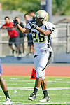 Torrance, CA 09/08/11 - James Nelson (Peninsula #26) in action during the North-Peninsula Junior Varsity Football game at North High School in Torrance.