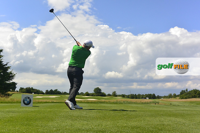 Paul Dunne (IRL) on the 14th tee during Round 4 of the 2016 BMW International Open at the Golf Club Gut Laerchenhof in Pulheim, Germany on Sunday 26/06/16.<br /> Picture: Thos Caffrey | Golffile