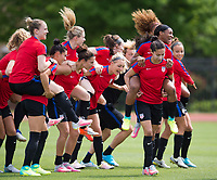USWNT Training, April 4, 2017