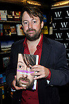 ..David Mitchell at waterstones oxford  signs copies of his autobiography David Mitchell: Back Story 16/10/12