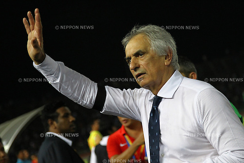 Vahid Halilhodzic (JPN), NOVEMBER 17, 2015 - Football / Soccer : FIFA World Cup Russia 2018 Asian Qualifier Second Round Group E match between Cambodia 0-2 Japan at Phnom Penh the National stadium in Phnom Penh, Cambodia. (Photo by Kenzaburo Matsuoka/AFLO)