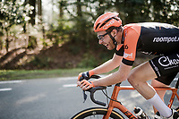 Jan-Willem van Schip (NED/Roompot - Charles) & his very peculiar (narrow) handlebars<br /> <br /> 62nd E3 BinckBank Classic (Harelbeke) 2019 <br /> One day race (1.UWT) from Harelbeke to Harelbeke (204km)<br /> <br /> ©kramon