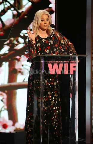 BEVERLY HILLS, CA June 13- Elizabeth Banks, at Women In Film 2017 Crystal + Lucy Awards presented by Max Mara and BMW_Show at The Beverly Hilton Hotel, California on June 13, 2017. Credit: Faye Sadou/MediaPunch
