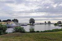 Am Peipus-See in Mustvee, Estland, Europa