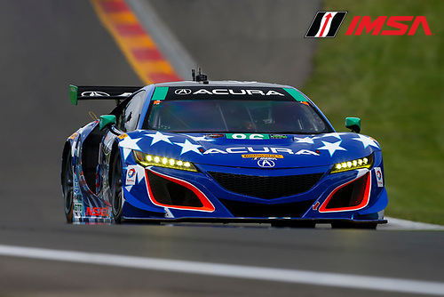 IMSA WeatherTech SportsCar Championship<br /> Sahlen's Six Hours of the Glen<br /> Watkins Glen International, Watkins Glen, NY USA<br /> Friday 30 June 2017<br /> 86, Acura, Acura NSX, GTD, Oswaldo Negri Jr., Jeff Segal<br /> World Copyright: Jake Galstad/LAT Images