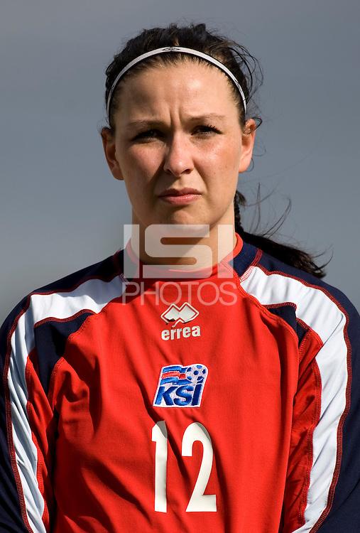 Gudborg Gunnarsdottir.  The USWNT defeated Iceland, 1-0, at Ferreiras, Portugal.