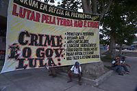 Tribunal da Terra.<br /> Belém, Pará, Brasil.<br /> Foto Paulo Santos<br /> 28/10/2002