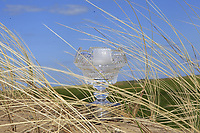 The cut-glass trophy during Round 3 of the Irish Women's Open Stroke Play Championship 2018 on Saturday 13th May 2018.<br /> Picture:  Thos Caffrey / Golffile<br /> <br /> All photo usage must carry mandatory copyright credit (&copy; Golffile | Thos Caffrey)