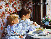 CHILDREN, KINDER, NIÑOS, paintings+++++,USLGSK0182,#K#, EVERYDAY ,Sandra Kock, victorian