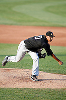 May 30, 2009:  Pitcher Hector Rondon of the Akron Aeros delivers a pitch during a game at Jerry Uht Park in Erie, PA.  The Aeros are the Double-A Eastern League affiliate of the Cleveland Indians.  Photo By Mike Janes/Four Seam Images
