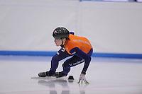 SCHAATSEN: LEEUWARDEN: 08-10-2015, Elfstedenhal, shorttrack Time Trial, Jorien ter Mors, ©foto Martin de Jong