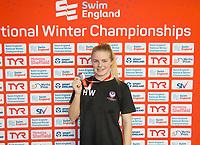 Picture by Allan McKenzie/SWpix.com - 13/12/2017 - Swimming - Swim England Winter Championships - Ponds Forge International Sport Centre - Sheffield, England - Harriet West.