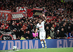 Tottenham's Harry Winks takes a corner in front of the Olympiakos fans during the UEFA Champions League match at the Tottenham Hotspur Stadium, London. Picture date: 26th November 2019. Picture credit should read: David Klein/Sportimage