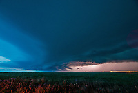 Lightning, storm, storm chasing, storm chaser, Colorado, Kansas, weather, clouds, supercell, farm, field, rain