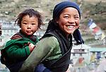 Smiling children, Namche Bazaar, Nepal