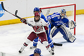 Jake Horton (Harvard - 19), Phil Boje (AFA - 4), Shane Starrett (AFA - 40) - The Harvard University Crimson defeated the Air Force Academy Falcons 3-2 in the NCAA East Regional final on Saturday, March 25, 2017, at the Dunkin' Donuts Center in Providence, Rhode Island.