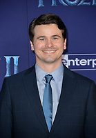 "LOS ANGELES, USA. November 08, 2019: Jason Ritter at the world premiere for Disney's ""Frozen 2"" at the Dolby Theatre.<br /> Picture: Paul Smith/Featureflash"
