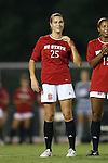 04 September 2015: NC State's Caroline Gentry. The North Carolina State University Wolfpack hosted the Oregon University Ducks at Dail Soccer Field in Raleigh, NC in a 2015 NCAA Division I Women's Soccer game. NC State won the game 2-0.