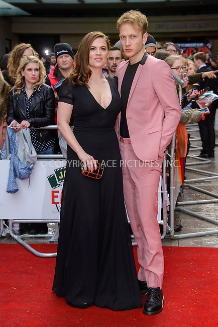 WWW.ACEPIXS.COM<br /> <br /> March 29 2015, London<br /> <br /> Hayley Atwell arriving at the Jameson Empire Awards at the Grosvenor Hotel on March 29 2015 in London.<br /> <br /> By Line: Famous/ACE Pictures<br /> <br /> <br /> ACE Pictures, Inc.<br /> tel: 646 769 0430<br /> Email: info@acepixs.com<br /> www.acepixs.com