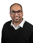 College of Computing and Digital Media PhD student Badar al Lawati won a Google Cloud Platform Scholarship to build out a refugee hiring platform called BridgeLink. (DePaul University/Jeff Carrion)