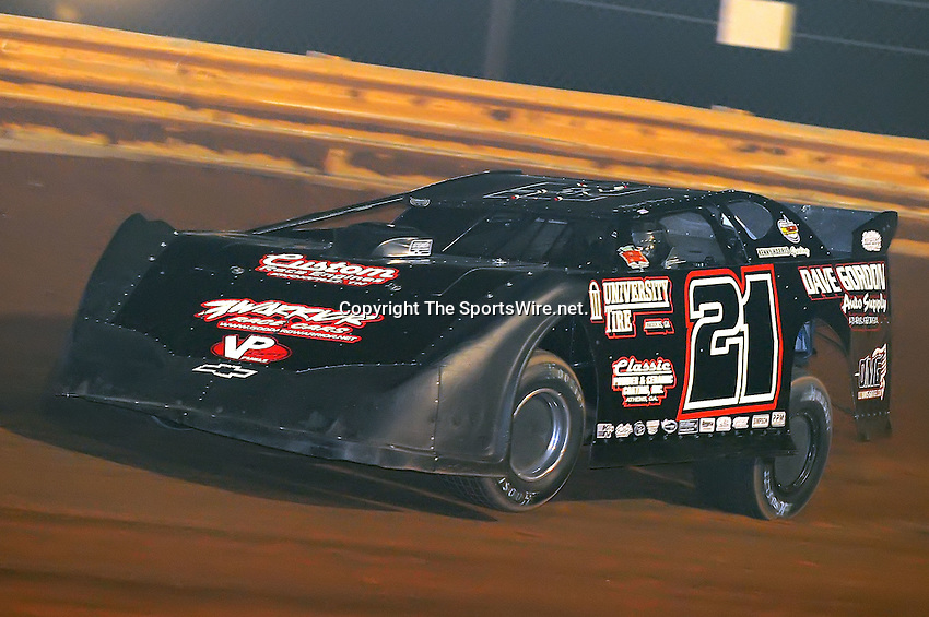 Jan 28, 2010; 6:55:33 PM; Waynesville, GA., USA; The Southern All Stars Racing Series running The Super Bowl of Racing VI at Golden Isles Speedway.  Mandatory Credit: (thesportswire.net)