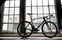 "FDJ LaPierre teambike on display<br /> <br /> Rouleur Classic London 2019<br /> ""The World's Finest Road Cycling Exhibition""<br /> <br /> ©kramon"