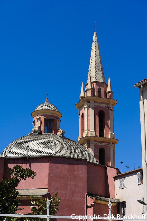 Kirche Sainte Marie Majeure in Calvi, Korsika, Frankreich