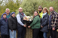 2017 03 30 Co op donation to Community Farm, Swansea, Wales, UK