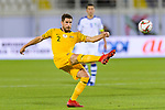 Milos Degenek of Australia in action during the AFC Asian Cup UAE 2019 Round of 16 match between Australia (AUS) and Uzbekistan (UZB) at Khalifa Bin Zayed Stadium on 21 January 2019 in Al Ain, United Arab Emirates. Photo by Marcio Rodrigo Machado / Power Sport Images