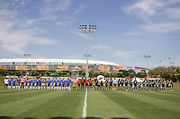 2009 US Soccer Academy Showcase Finals at Home Depot Center in Carson, California Friday July 10, 2009. .