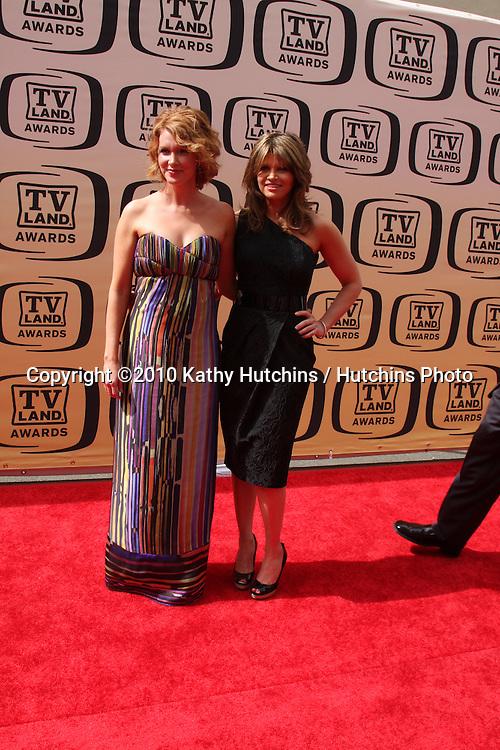 Allison Smith & Ari Meyers.arrives at the 2010 TV Land Awards.Sony Studios.Culver City, CA.April 17, 2010.©2010 Kathy Hutchins / Hutchins Photo...