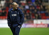 Preston North End manager Alex Neil tries to hide his disappointment<br /> <br /> Photographer David Shipman/CameraSport<br /> <br /> The EFL Sky Bet Championship - Rotherham United v Preston North End - Tuesday 1st January 2019 - New York Stadium - Rotherham<br /> <br /> World Copyright © 2019 CameraSport. All rights reserved. 43 Linden Ave. Countesthorpe. Leicester. England. LE8 5PG - Tel: +44 (0) 116 277 4147 - admin@camerasport.com - www.camerasport.com
