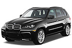 Front three quarter view of a 2013 BMW X5 M.