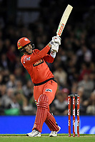 10th January 2020; Marvel Stadium, Melbourne, Victoria, Australia; Big Bash League Cricket, Melbourne Renegades versus Melbourne Stars; Tom Cooper of the Renegades hits the ball - Editorial Use