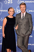 LONDON, UK. October 15, 2019: Jayne Torvill & Christopher Dean at the National Lottery Awards 2019, London.<br /> Picture: Steve Vas/Featureflash