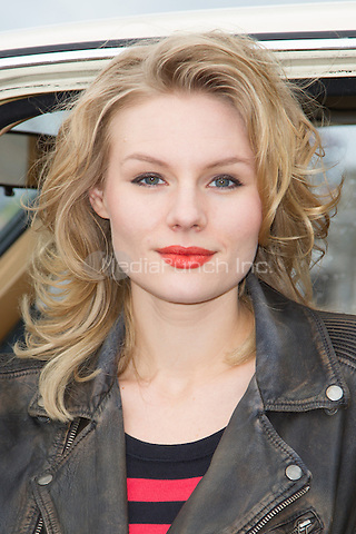 Rosalie Thomass attending the Taxi photocall held at Fischmarkt, Hamburg, Germany, 14.04.2014. <br /> Photo by Christopher Tamcke/insight media /MediaPunch ***FOR USA ONLY***