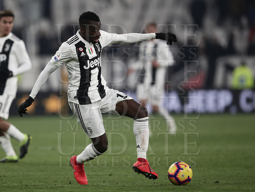 Calcio, Serie A: Juventus - Chievo Verona, Turin, Allianz Stadium, January 21, 2019.<br /> Juventus' Blaise Matuidi in action during the Italian Serie A football match between Juventus and Chievo Verona at Torino's Allianz stadium, January 21, 2019.<br /> UPDATE IMAGES PRESS/Isabella Bonotto
