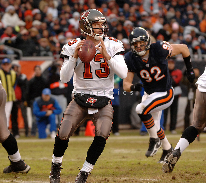 TIM RATTAY, of the Tampa Bay Buccaneers, during their game  against the Chicago on December 17, 2006 in Chicago, IL...Bears wins 34-31...DAVID DUROCHIK / SPORTPICS