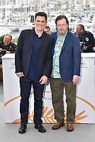 CANNES, FRANCE - MAY 14: Matt Dillon, Lars von Trier at the photocall for the 'The House That Jack Built' during the 71st annual Cannes Film Festival at Palais des Festivals on May 14, 2018 in Cannes, France.<br /> CAP/PL<br /> &copy;Phil Loftus/Capital Pictures